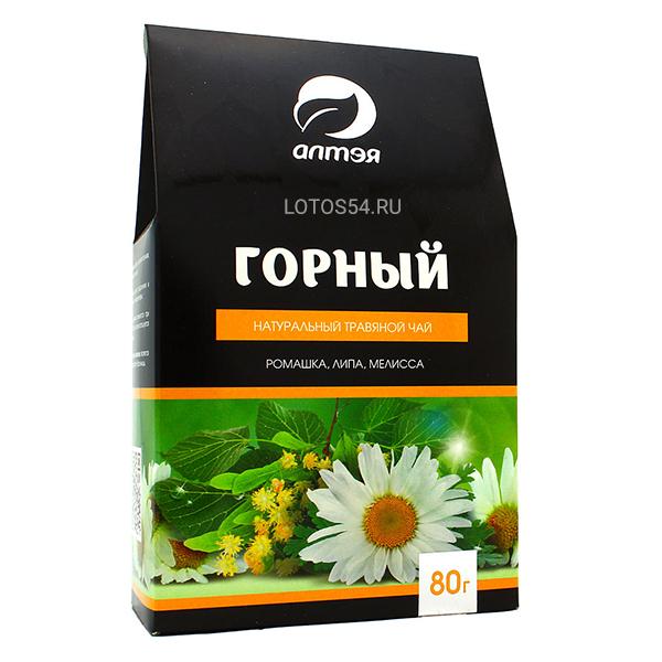 """АЛТЭЯ Травяной чай """"Горный"""", 80гр."""