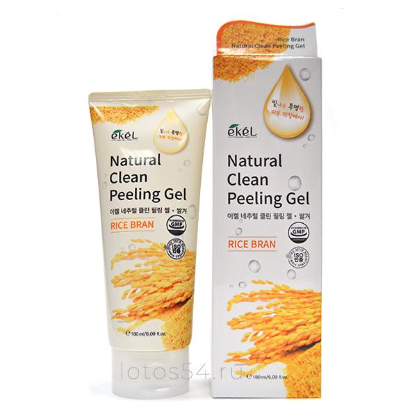 Ekel Rice Bran Natural Clean Peeling Gel, 180мл