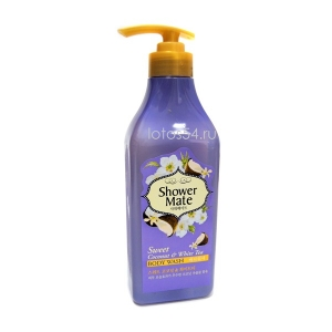 KeraSys Shower Mate Sweet Coconut & White Tea Body Wash, 550мл