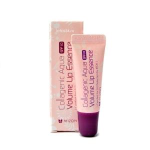 MIZON Collagenic Aqua Volume Lip Essence, 10мл