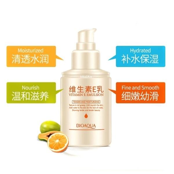 BioAqua Vitamin E Emulsion, 100мл.