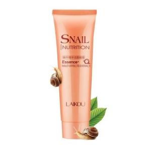 LAIKOU Snail Nutrition Cleansing Foam, 100гр.