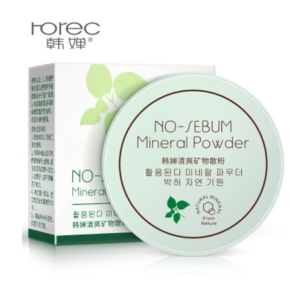 BioAqua Rorec No-Sebum Mineral Powder, 5гр.