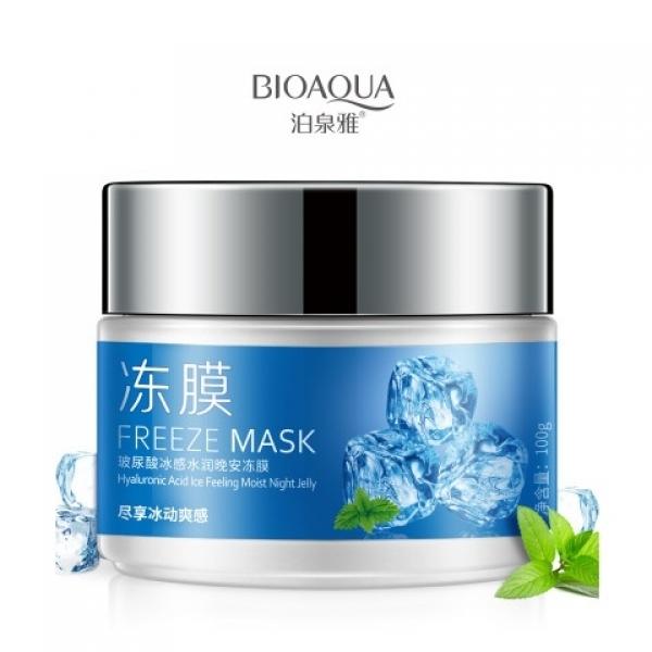 BioAqua Freeze Mask Hyaluronic Acid Ice Feeling Moist Night Jelly, 100гр.