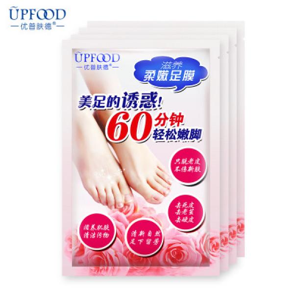 UPFOOD Педикюрные носочки с фруктовыми кислотами, 1 упак. (2шт)