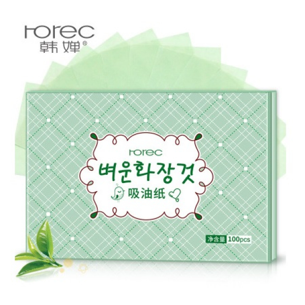 BioAqua Rorec Oil Absorbing Paper, 100 шт