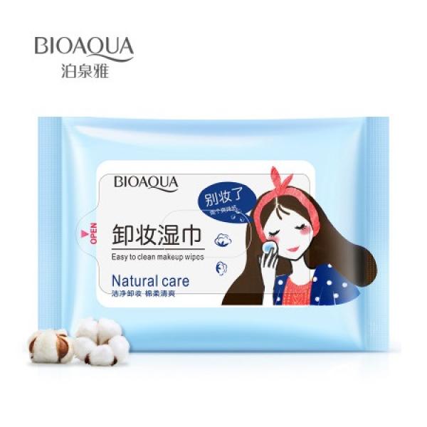 BioAqua Easy Clean Makeup Wipes, 25 шт.