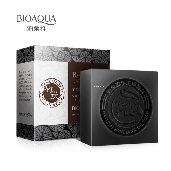 BioAqua Bamboo Natural Oil Handmade Soap, 100гр.