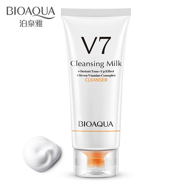 BioAqua V7 Cleansing Milk, 100гр.