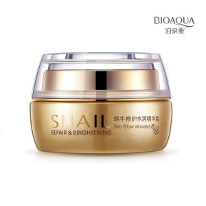 BioAqua Snail Repair & Brithening cream, 50 мл.