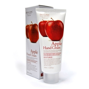 3W CLINIC Apple Hand Cream, 100 мл.