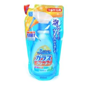 Nihon Detergent Foam spray glass cleaner, мягк. упак., 350мл