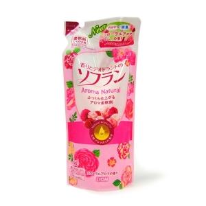 LION Soflan Aroma Natural, цветочно-ягодный аромат 480мл