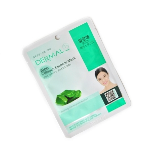Dermal Aloe Collagen Essence Mask, 23гр.