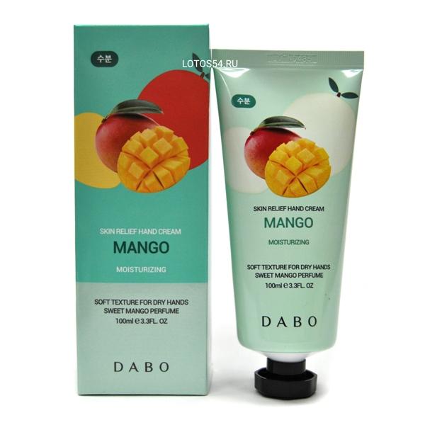 Dabo Skin Relief Hand Cream Mango, 100мл