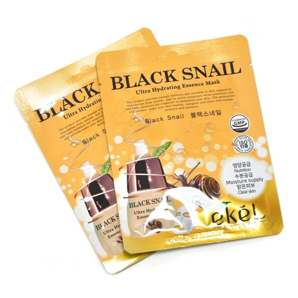 Ekel Black Snail Ultra Hydrating Mask, 25гр.