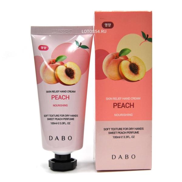 Dabo Skin Relief Hand Cream Peach, 100мл.