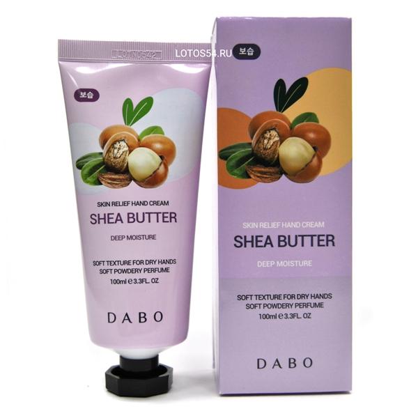 Dabo Skin Relief Hand Cream Shea Butter, 100мл