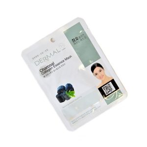 Dermal Charcoal Collagen Essence Mask, 23гр.