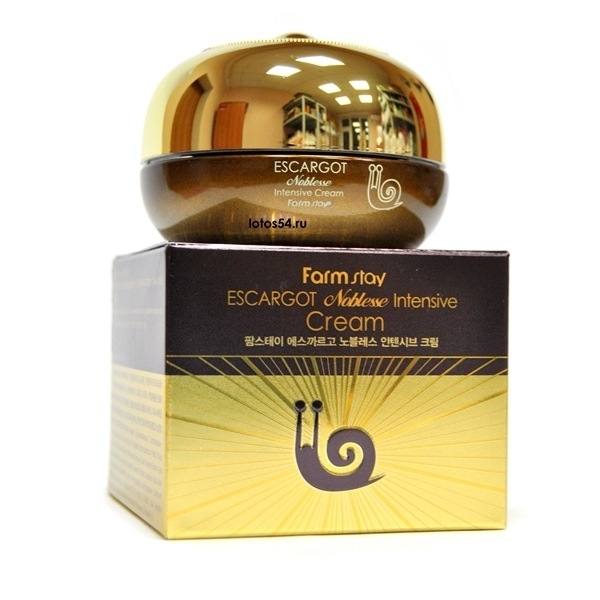 FarmStay Escargot Noblesse Intensive Cream, 50 мл