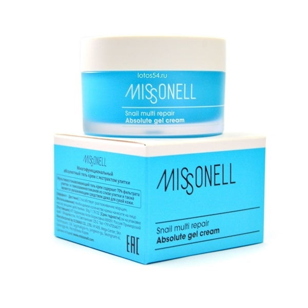 MISSONELL SNAIL MULTI REPAIR ABSOLUTE CREAM, 50гр.