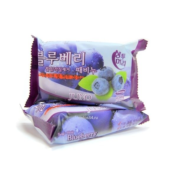 Juno Soap Blueberry, 150гр.