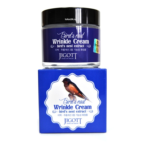 Jigott Bird's Nest Wrinkle Cream, 70мл