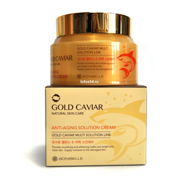 Bonibelle Gold Caviar Anti-Aging Solution Cream, 80мл