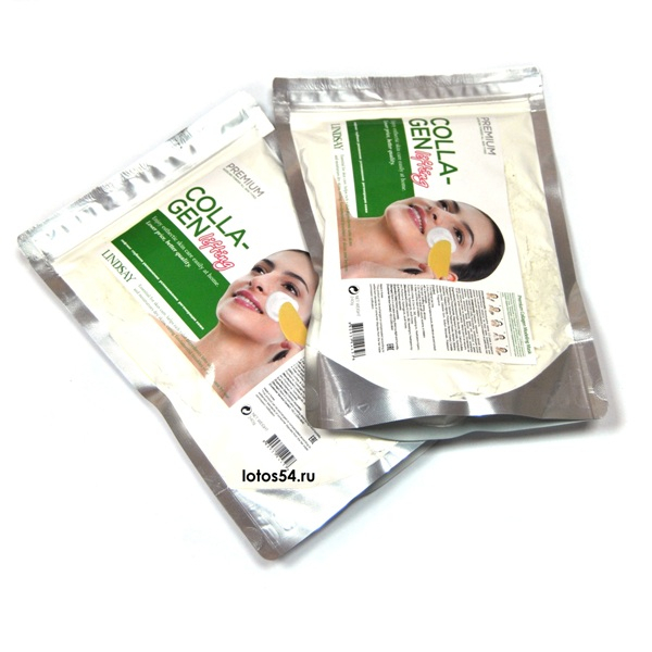 LINDSAY Crystal Modeling Mask Collagen, мягкая упаковка, 240гр