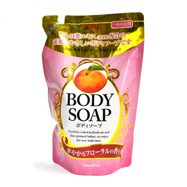 Nihon Detergent Wins Body Soap Peach, 400мл