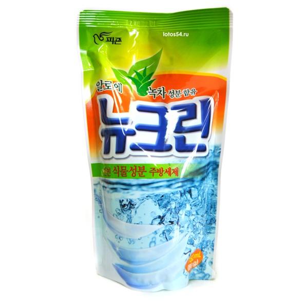 PIGEON New Clean (Aloe & Green tea), 800гр.