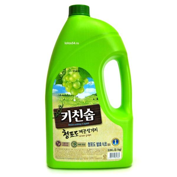MKH Rich Bubble Green Grape, 3,04л