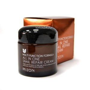 Mizon All in One Snail Repair Cream, 75мл