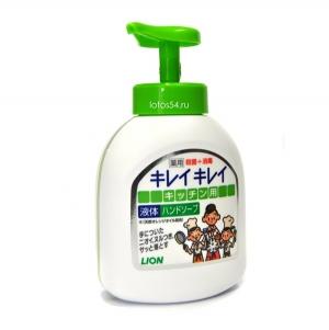 LION Kirei Kirei Orange Oil foam hand soap, 250мл