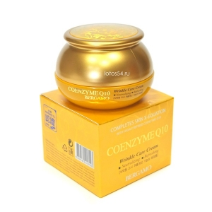 Bergamo Coenzyme Q10 Wrinkle Care Cream, 50гр.