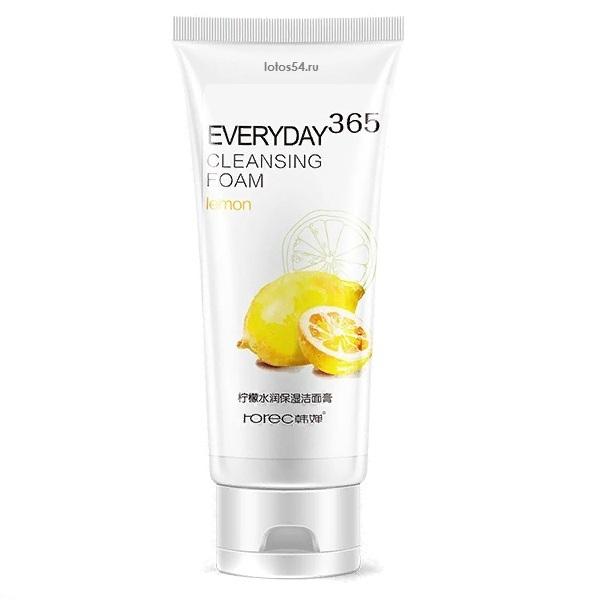 BioAqua Rorec Everyday 365 Cleansing Foam Lemon, 120гр.