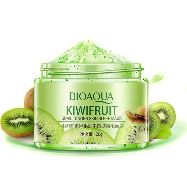 BioAqua Kiwi Fruit Snail Tender Skin Sleep Mask, 120гр