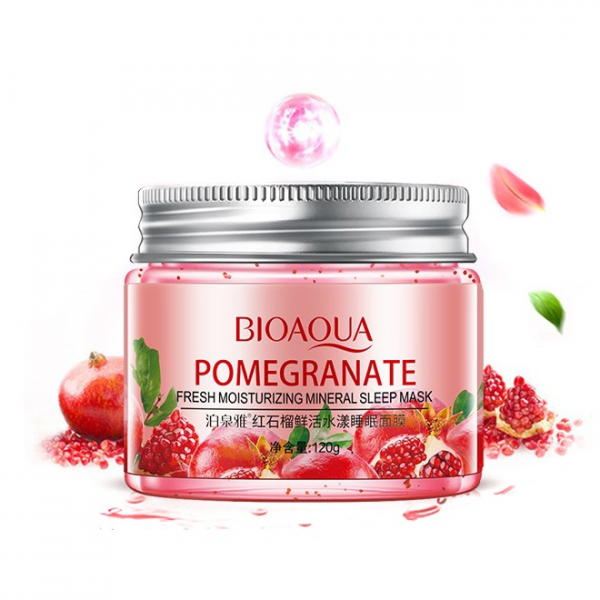 Bioaqua Pomegranate Mineral Sleep Mask, 120 гр.