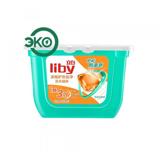 Liby Капсулы для стирки концентрированные Color, 416г/52 шт.