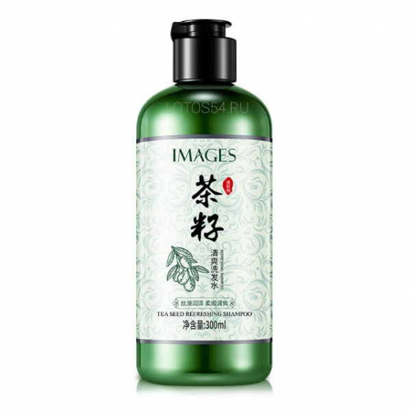 BioAqua Images Tea seed refreshing shampoo, 300мл