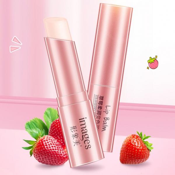 BioAqua Strawberry Soft Change Color Lip Balm, 4 гр.