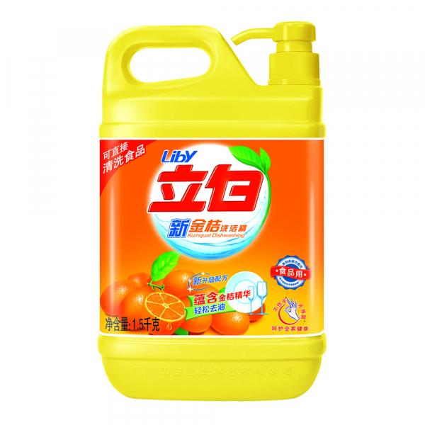 "Liby ""Кумкват"" Жидкость для мытья посуды , 1,5кг"