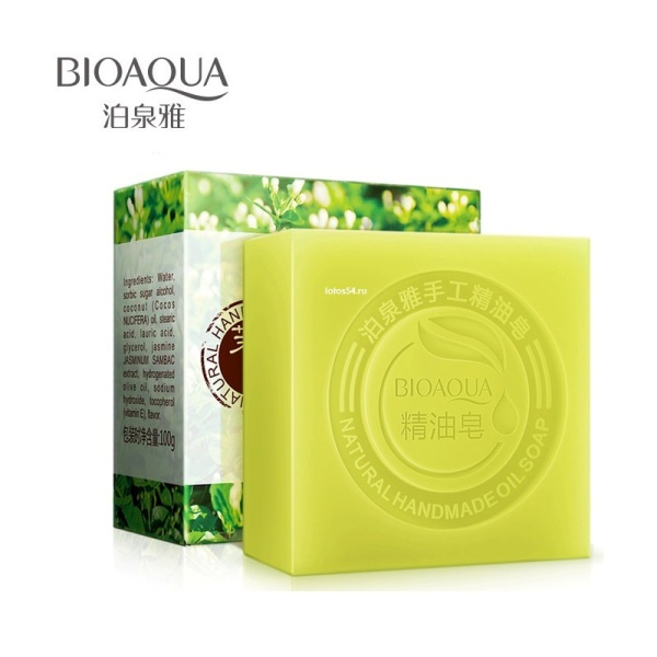 BioAqua Jasmine Natural Oil Handmade Soap, 100гр.