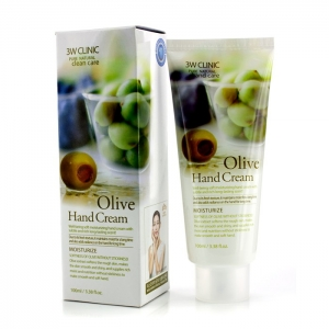 3WClinic Olive hand cream, 100 мл.