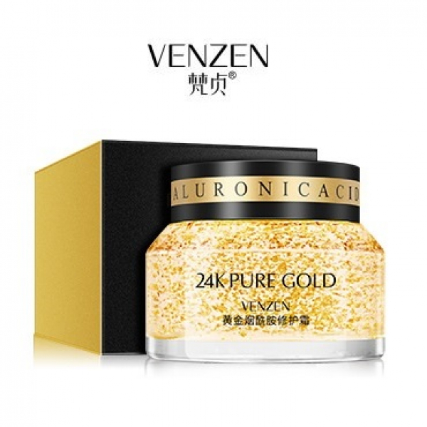 BioAqua Venzen 24K Pure Gold Cream, 50гр.