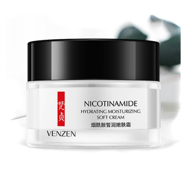 Venzen Nicotinamide Hydrating Moisturizing Soft Cream, 50 гр.
