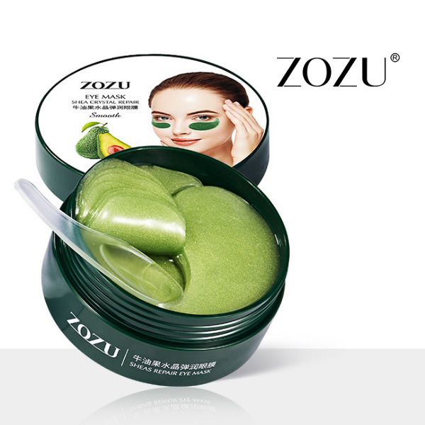 ZOZU Avocado Eye Mask Shea Crystal Repair, 1уп./60шт